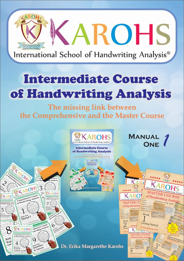 Intermediate Course of Handwriting Analysis Manual One