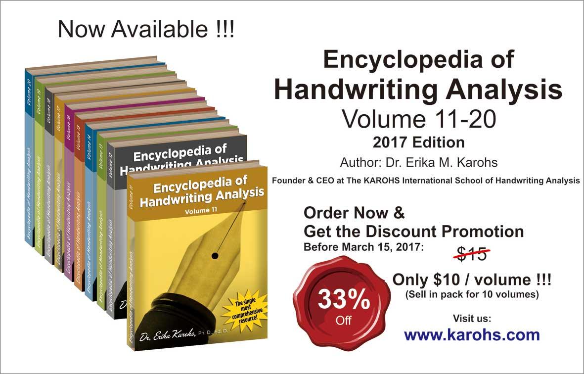 Encyclopedia of Handwriting Analysis