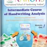 4.   INTERMEDIATE COURSE OF HANDWRITING ANALYSIS